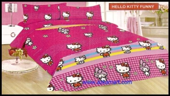 agen jual grosir Sprei Bonita Hello Kitty Funny