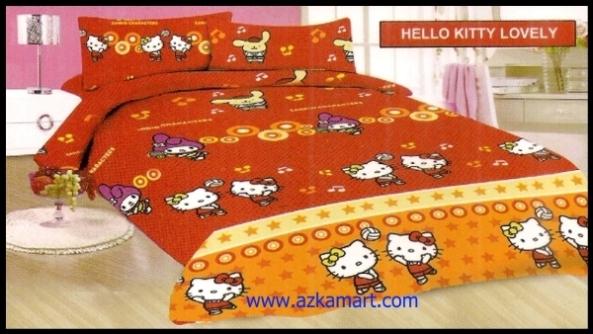 agen jual grosir Sprei Bonita Hello Kitty Lovely