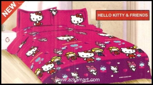 agen jual grosir Sprei Bonita Hello Kitty Friends