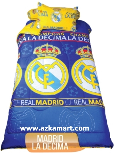 jual beli grosir sprei my love real madrid