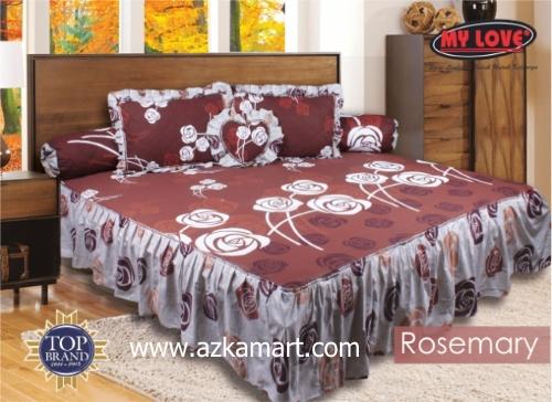 grosir online Sprei My Love Rumbai rosemary