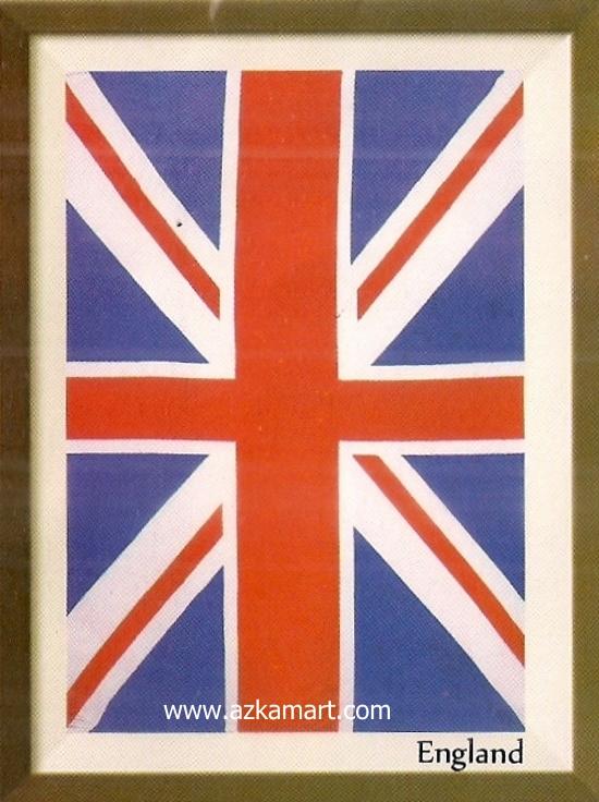 motif gambar planel Selimut Internal England