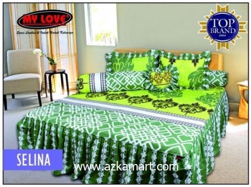 grosir online Sprei My Love Rumbai Selina