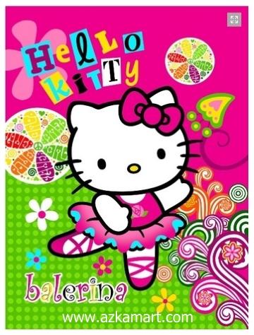 jual selimut grosir murah Hello Kitty Balerina