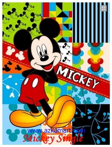 jual selimut grosir murah Mickey Single