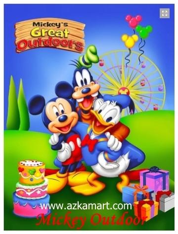 jual selimut grosir murah Mickey Outdoor