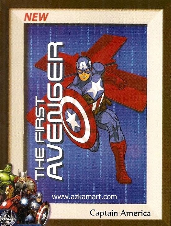 jual beli grosir Selimut Internal Captain America