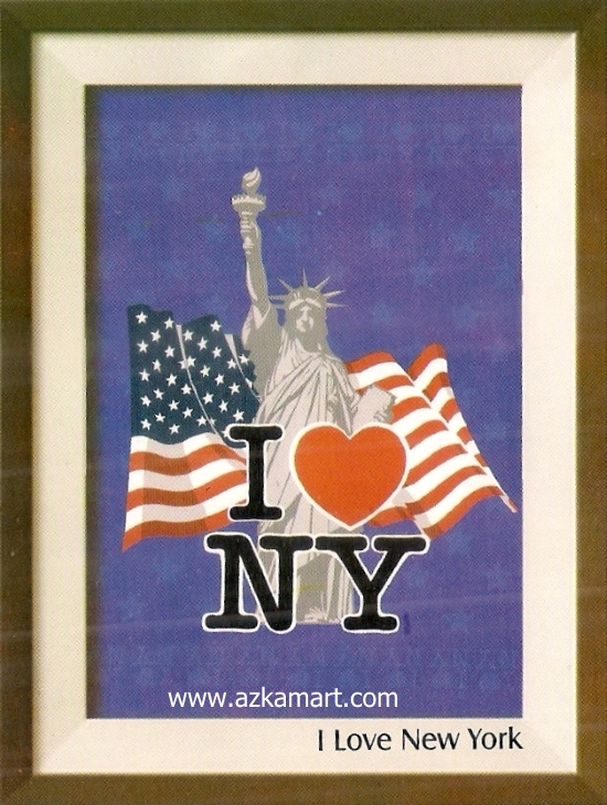 jual beli grosir Selimut Internal I Love New York