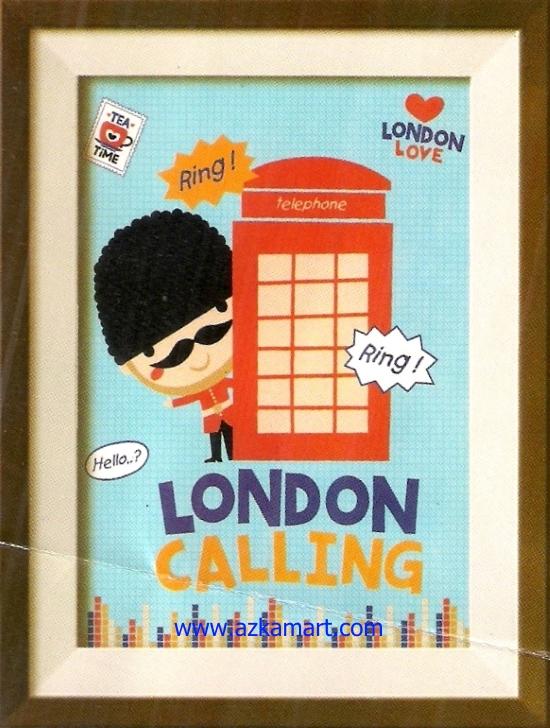 jual beli grosir Selimut Internal London calling