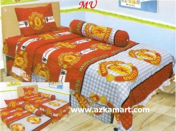 jual online murah Sprei Lady Rose Manchester united