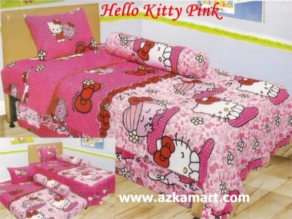 jual online murah Sprei Lady Rose Hello Kitty Pink