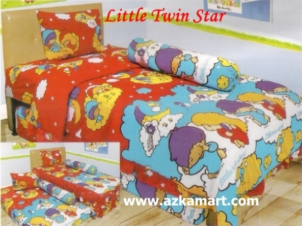 jual online murah Sprei Lady Rose Little Twin Star