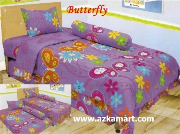 jual online murah Sprei Lady Rose Butterfly