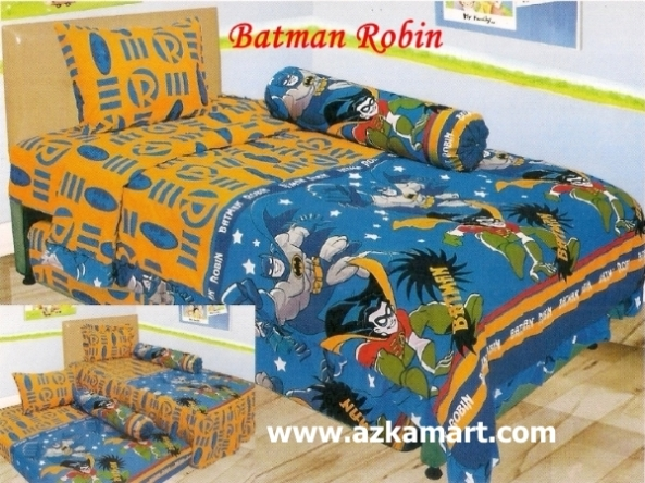 jual online murah Sprei Lady Rose Batman Robin