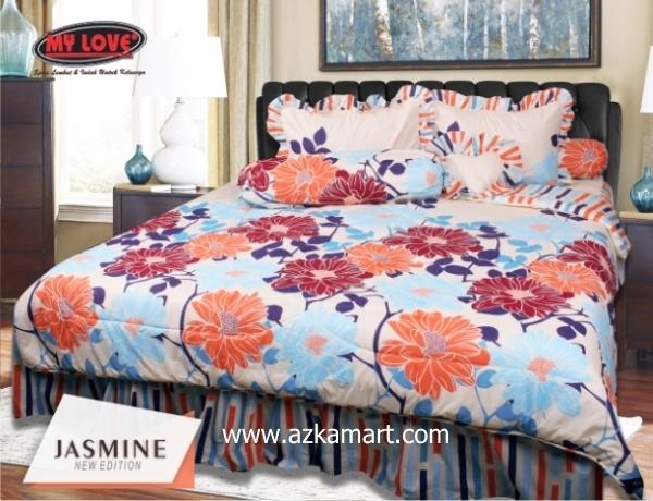 jual online sprei bedcover my love jasmine