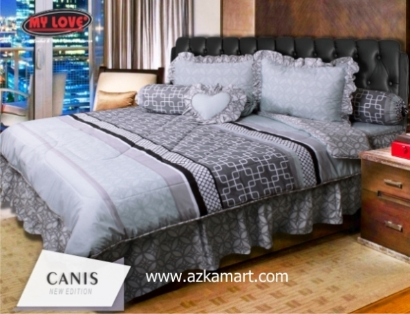 jual online sprei bedcover my love canis