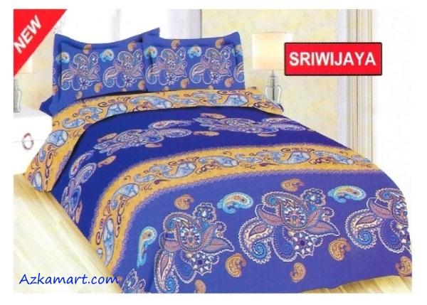 jual sprei bonita 3d katalog motif batik sriwijaya