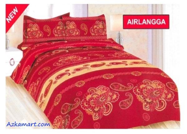 jual sprei bonita 3d katalog motif batik airlangga