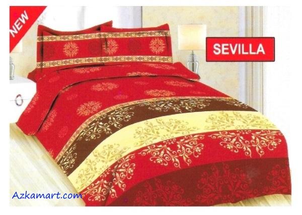 jual sprei bonita 3d katalog motif batik sevilla
