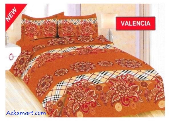 jual sprei bonita 3d katalog motif batik valencia
