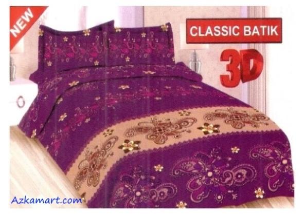 jual sprei bonita 3d katalog motif batik clasik batik