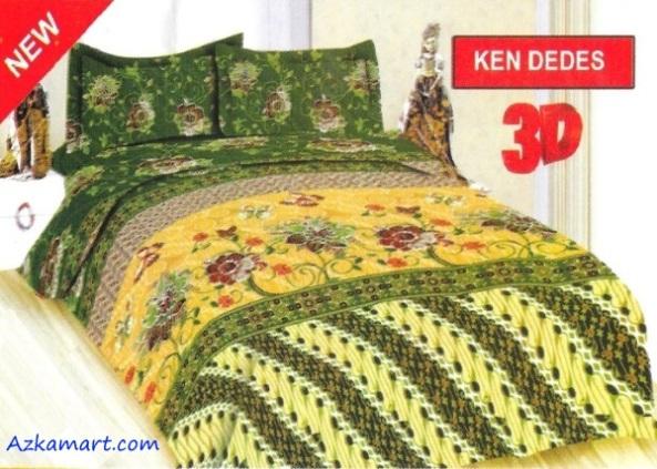 jual sprei bonita 3d katalog motif batik kendedes