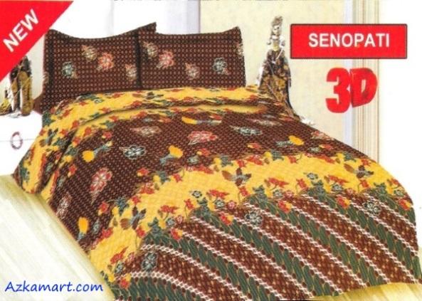 jual sprei bonita 3d katalog motif batik senopati