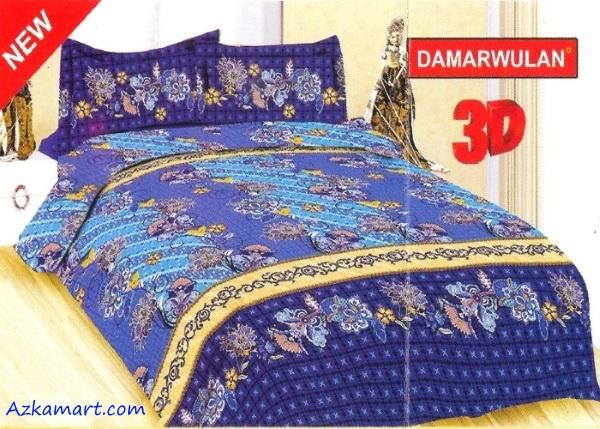 jual sprei bonita 3d katalog motif batik damarwulan