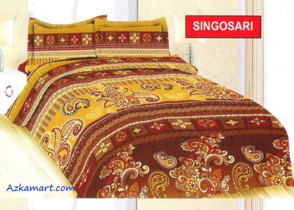 jual sprei bonita 3d katalog motif batik singosari