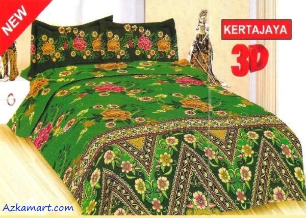 jual sprei bonita 3d katalog motif batik kertajaya