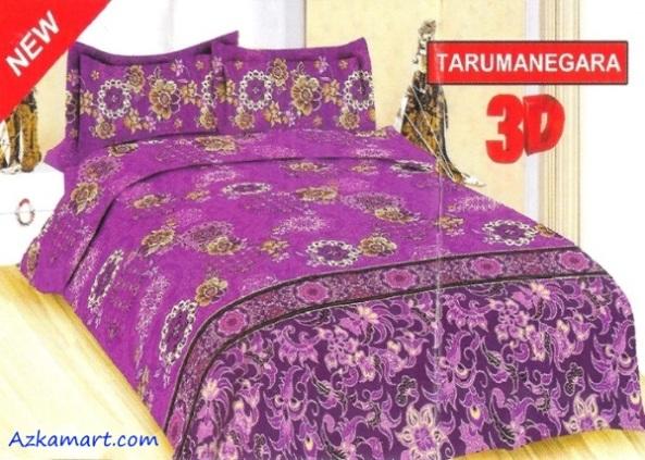 jual sprei bonita 3d katalog motif batik tarumanegara