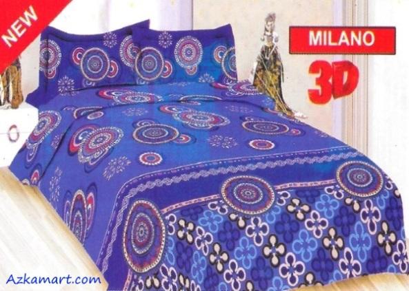 jual sprei bonita 3d katalog motif batik milano