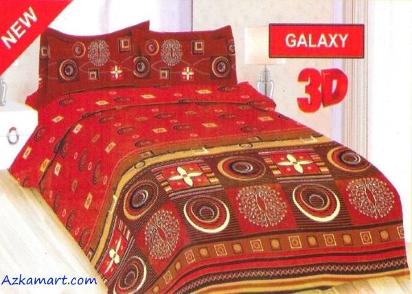 jual sprei bonita 3d katalog motif batik galaxy