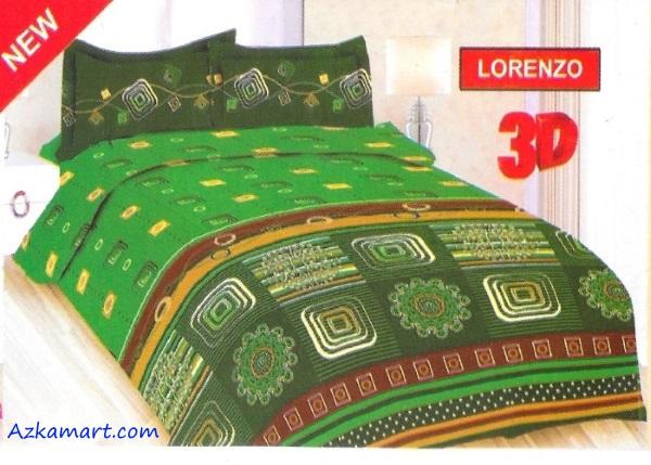 jual sprei bonita 3d katalog motif batik lorenzo